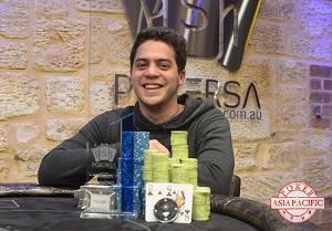 Henry Smzelcer wins 2014 Poker SA $2400 Diamond Event