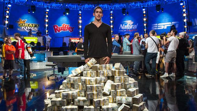 Top 10 money earners on tournament poker circuit so far in 2014
