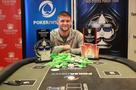 Ryan Dykhouse Wins MSPT FireKeepers for $124500 and Is Michigan State …