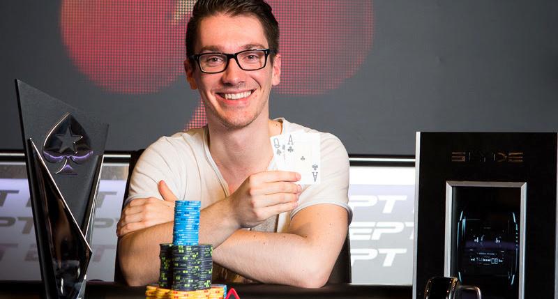 Sebastian Pauli shows raw emotion following EPT London poker victory