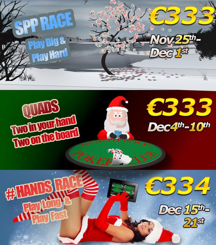 Switch Poker Launches €1000 XMAS Competition