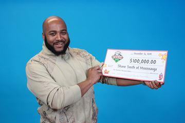 Mississauga resident wins $100000 in nightly…