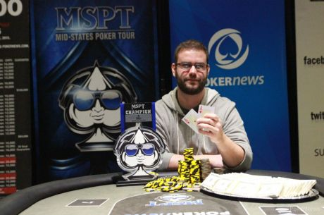 Brian Arbaugh Wins Mid-States Poker Tour bestbet Jacksonville for $102806