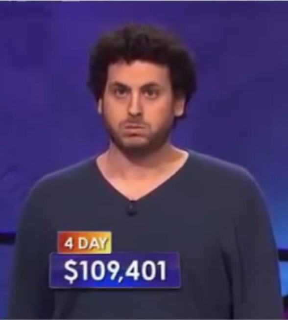 Former Poker Pro Alex Jacob Challenged On Fourth Jeopardy Appearance
