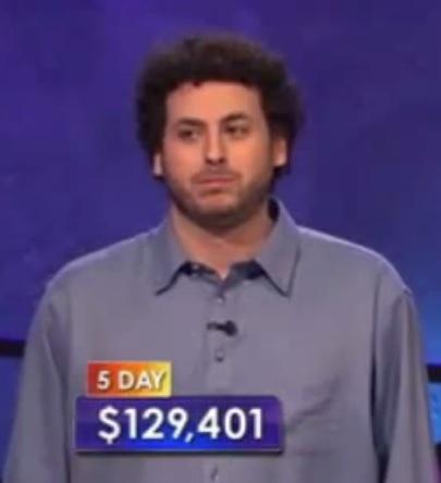 Former Poker Pro Alex Jacob Ups Jeopardy Win Streak To Five