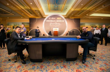 Phil Ivey, Johnny Chan & Tom Dwan Attend Poker King Club Macau Grand …