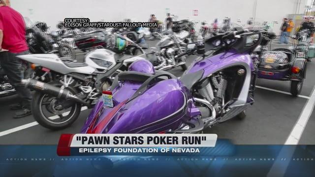 'Pawn Stars' poker run benefits Epilepsy Foundation