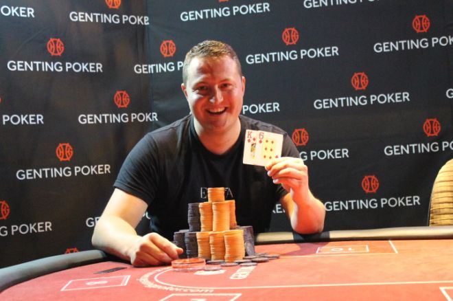 Colin Gillon Wins the 2015 Genting Poker Series Edinburgh Main Event