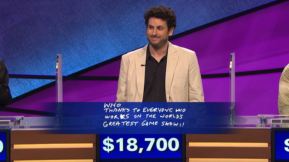 Small Screen: Poker is great training, Jeopardy champ says