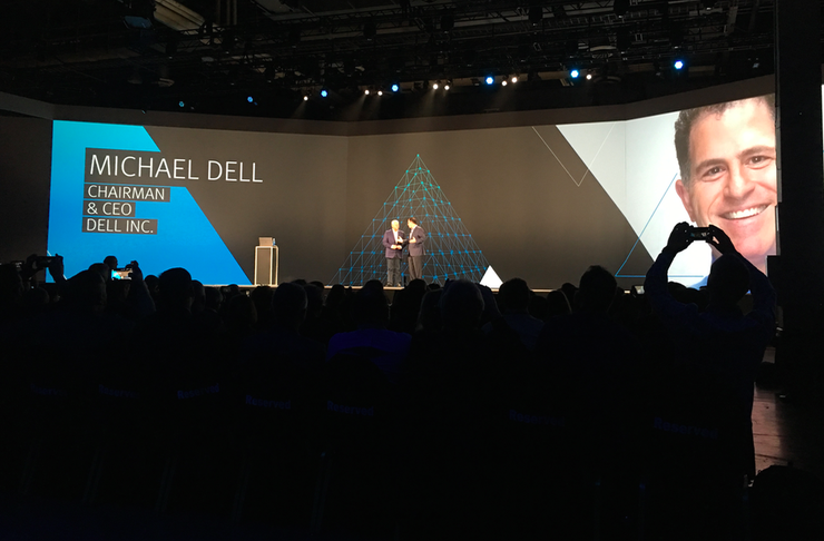 ​EMC World 2016: Digital key as Michael Dell shows EMC poker hand