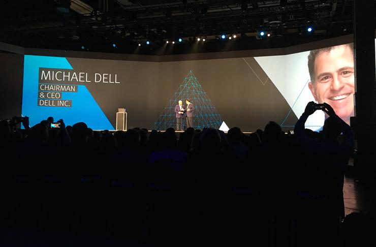 EMC World 2016: Digital key as Michael Dell shows EMC poker hand
